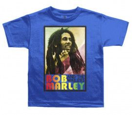 Bob Marley Kinder T-shirt Rasta - kinderkleding