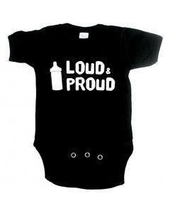 coole baby romper loud and proud