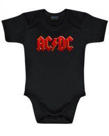 AC/DC Romper Onesie Colour