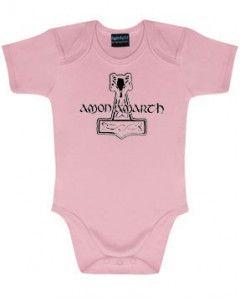 Body bebè Amon Amarth Logo Pink