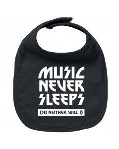Rock Baby Slabbetje music never sleeps