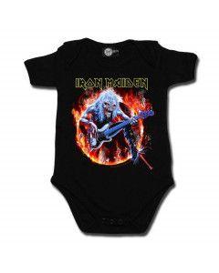 Body bebè metal Iron Maiden FLF