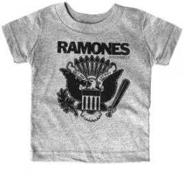T-shirt bambini Ramones Gray