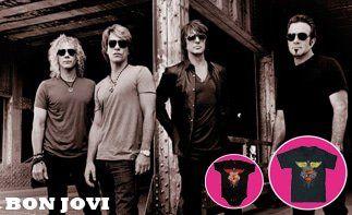 Bon Jovi abbigliamento bebè rock