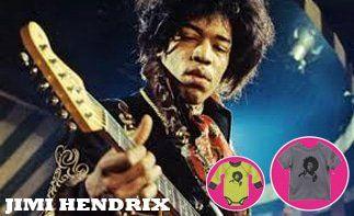 Jimi Hendrix abbigliamento bebè rock