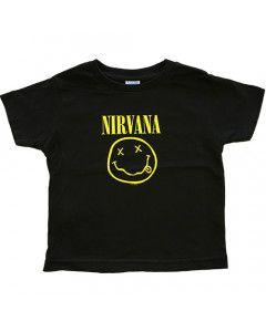 Nirvana T-shirt voor kinderen Smiley
