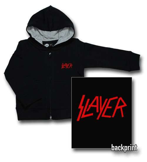 Slayer Baby Hoody Logo Red (Print On Demand)