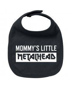 Bavoir Metal Bébé Mommy's little Metalhead