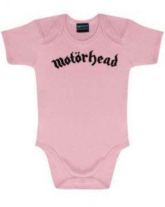 Body bebè Motörhead Logo Pink