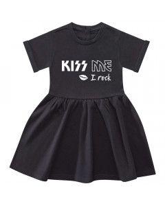 Maglietta per Bebè Kiss me I rock