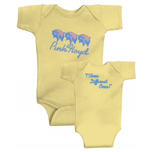 body bebè rock bambino Pink Floyd 'Three Different Ones'