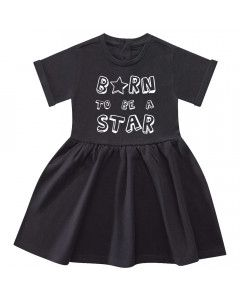 Born to be a star baby dress