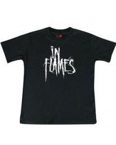 In Flames Kids T-shirt Logo In Flames
