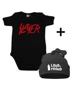 Set Cadeau Slayer Body Bébé & Loud & Proud Bonnet