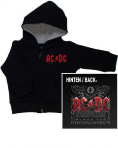 Baby Hoody AC/DC Zip sweater