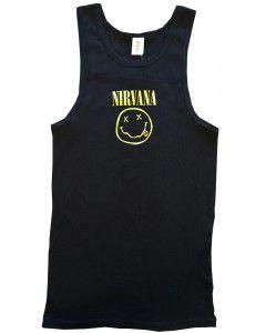 Nirvana kinder hemd Smiley