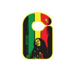 Bavoir Rock baby Bob Marley One love