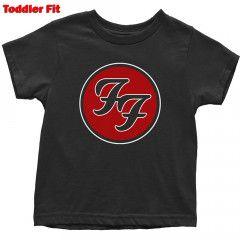Foo Fighters T-shirt til børn   Logo Red