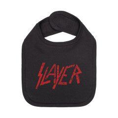 Slayer slabbertje red logo