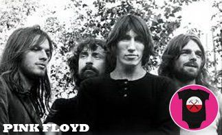 Pink Floyd abbigliamento bebè rock