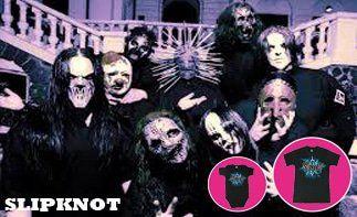 Slipknot abbigliamento bebè rock