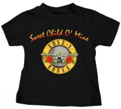 T-shirt bambini Guns and Roses Bullet Sweet Child