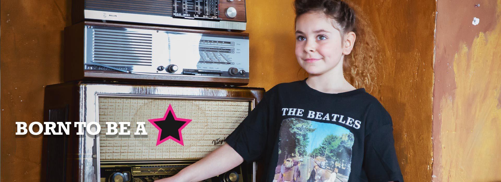 Rock bambini t-shirt - The Beatles