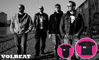 Volbeat abbigliamento bebè rock