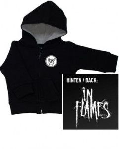 Baby Hoody In Flames sweater (Print On Demand)
