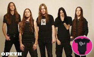 Opeth abbigliamento bebè rock