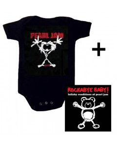 Idea regalo Body bebè Pearl Jam Stickman & Rockabye Baby Pearl Jam