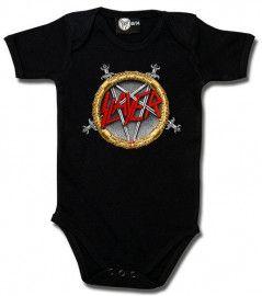 Body Bébé Slayer Pentagram Bébé Metal-Kids