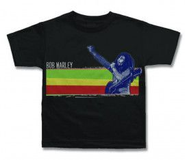 Bob Marley t-shirt Enfant Stripe