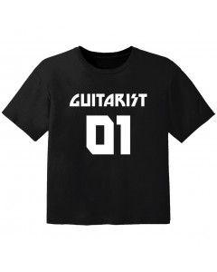 T-shirt Bambino Rock guitarist 01