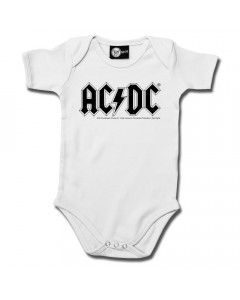 ACDC Baby Grow AC/DC White