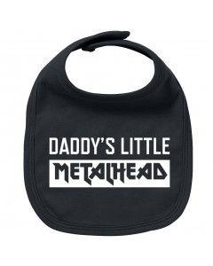 Bavoir Metal Bébé Daddy's little Metalhead
