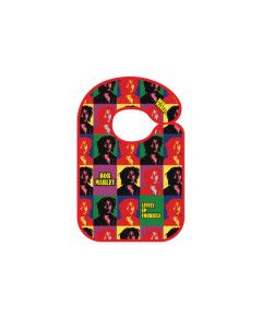 Bavoir Rock baby Bob Marley Lively up yourself