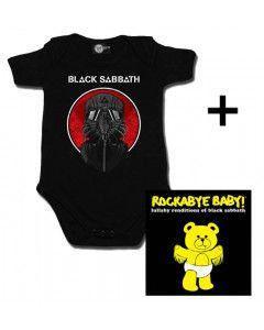 Idea regalo Body bebè Black Sabbath 2014 & Rockabye Baby Black Sabbath