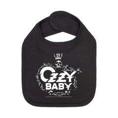 Ozzy Osbourne Bavoir Rock Bébé