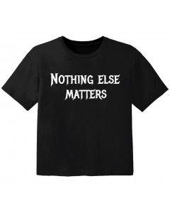 T-shirt Bambini nothing else matters