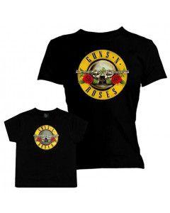 Duo Rockset Guns N' Roses Mother's T-shirt & Guns N' Roses T-shirt Baby