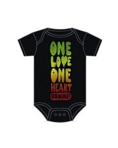 Bob Marley Baby romper One Love One Heart