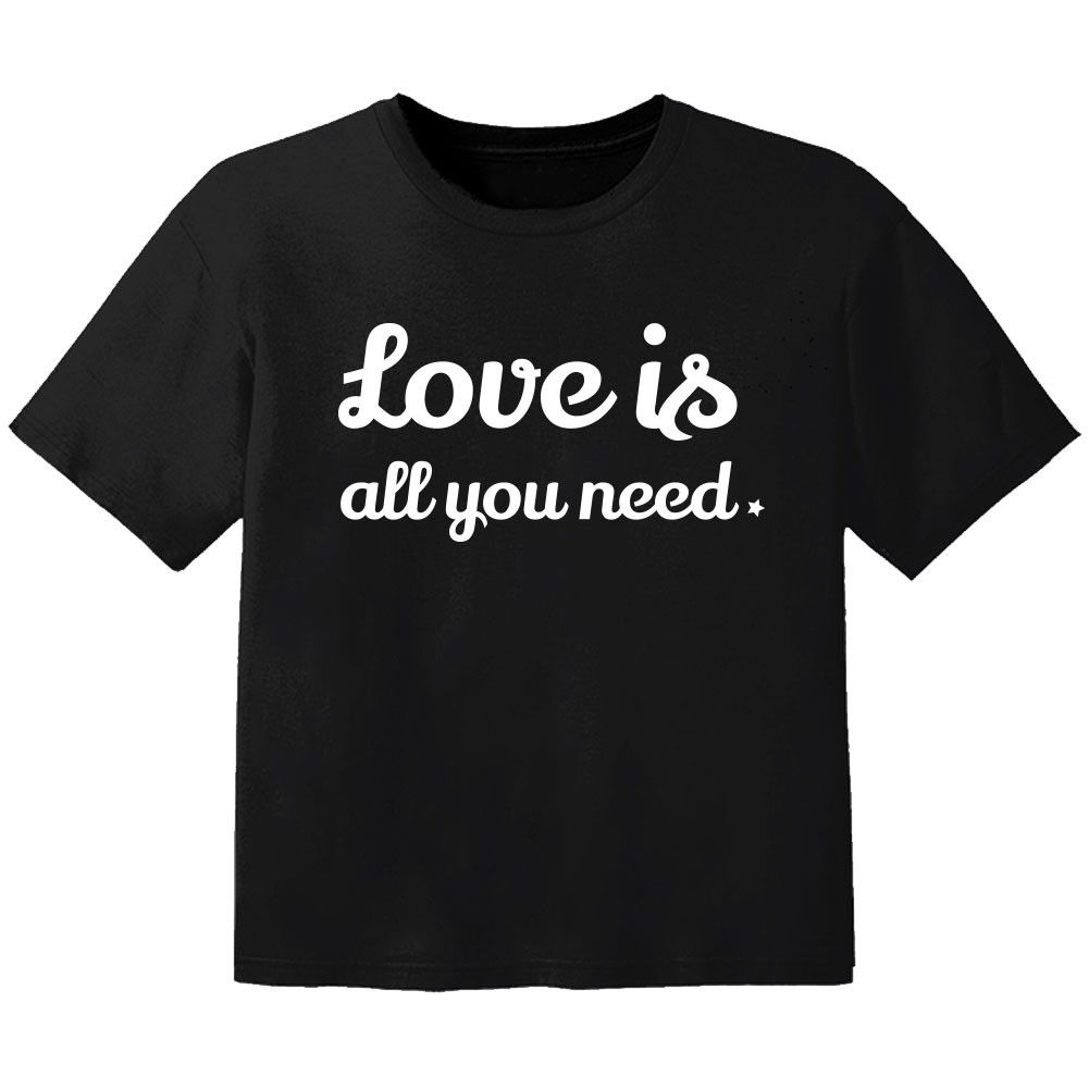 stoer baby t-shirt love is all you need