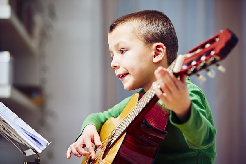 How do I buy my child's first guitar?