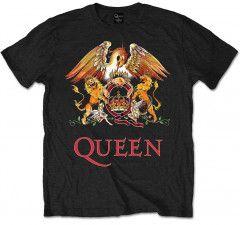T-shirt bambini Queen Classic Crest