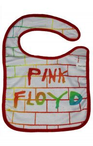Bavoir Rock Bébé Pink Floyd The Wall