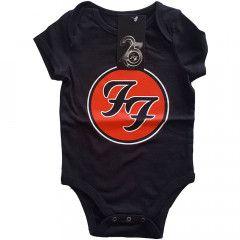 Foo Fighters Logo Red baby romper