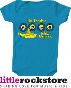 body bebè rock bambino Beatles Portholes