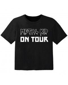 T-shirt Bambini metal kid on tour