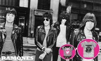 Ramones abbigliamento bebè rock